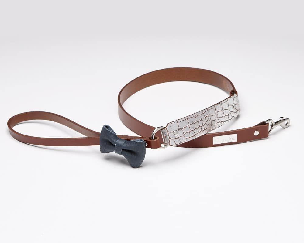Bud - Luxury leather dog leash | Signe Louka