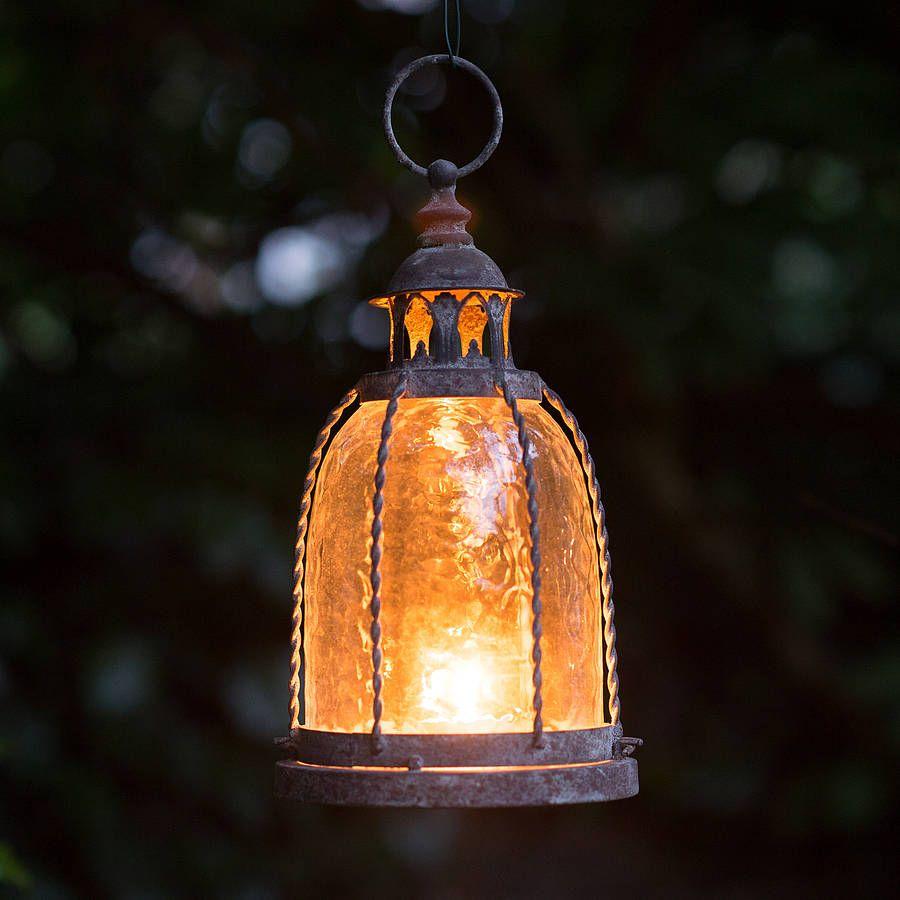 Traditional Garden Candle Lantern