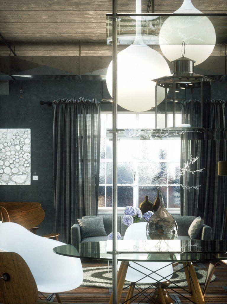Octane render Arch Interior Furniture Stores Octane