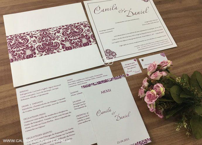 Excepcional Identidade visual casamento marsala | Wedding and Weddings KG27