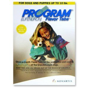 Program Tabs 6pk Brown Dog 1-10 lbs (Misc.)  http://pieflavors.com/amazonimage.php?p=B00006H385  B00006H385