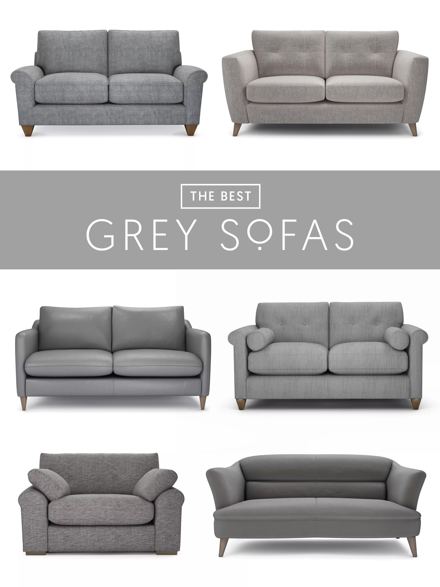 Exceptionnel The Best 6 Grey Sofas | If You Love Grey, Youu0027ll Find A Stunning Selection  Of Velvet, Fabric, Tweed And Leather At The Lounge Co.
