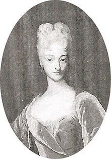 Anna Maria Antonie of Liechtenstein (11 September 1699 in Vienna – 20 January 1753 in Vienna), was a princess consort of Liechtenstein; married 19 April 1718 to her cousin prince Joseph Wenzel I, Prince of Liechtenstein.