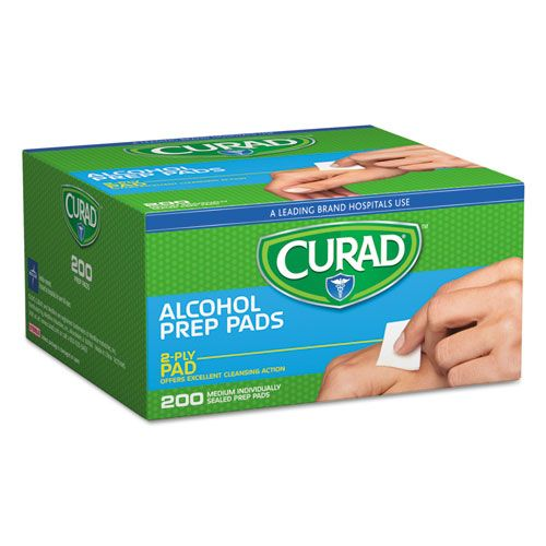 Alcohol Swabs, 1 x 1, 200/Box: The easy and convenient way to cleanse the skin and help decrease bacteria at the site of application.$4.49/Box #alcoholwipes