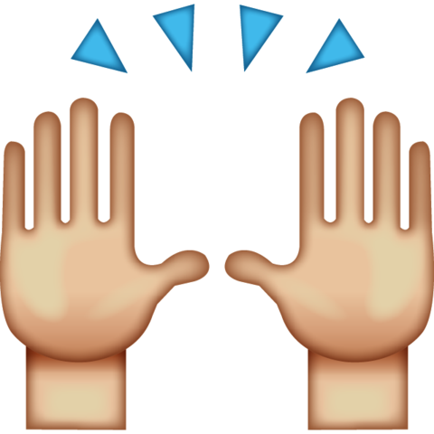 High Five Emoji High Five Emoji Emoji High Five