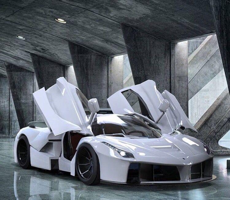Jaguar Dealer Melbourne: Star Wars White LaFerrari