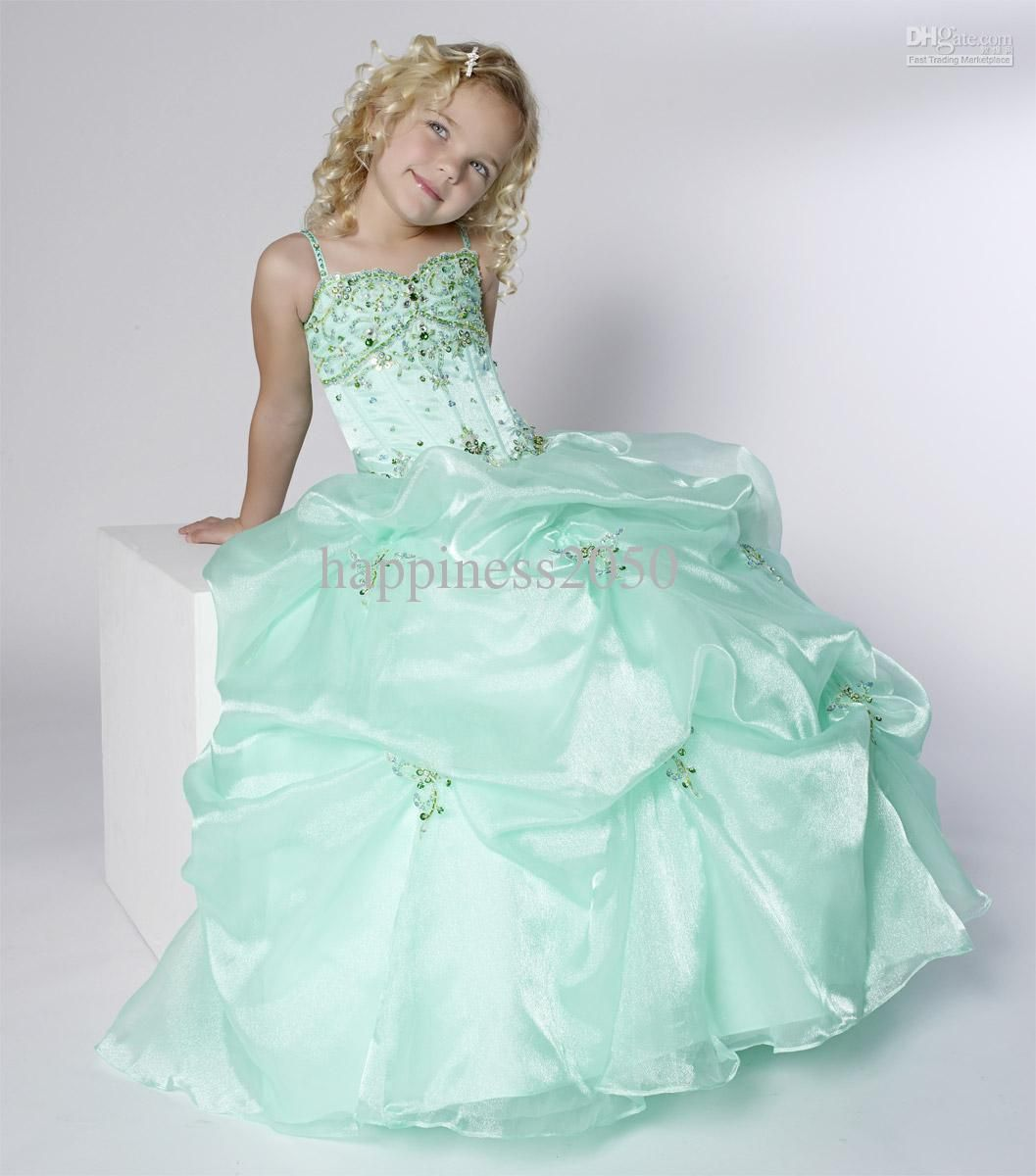 Layered Organza Ruffle Skirt Holiday Christmas Party Flower Girl ...