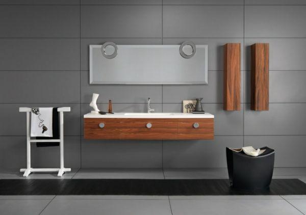 Modernes Badezimmer – Gestaltungsideen mit Designer Badspiegel ...