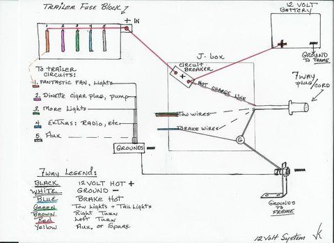12 Volt System | Vintage Trailer Talk | Aristrocrat | Camper ... Shasta Camper Wiring Diagram on