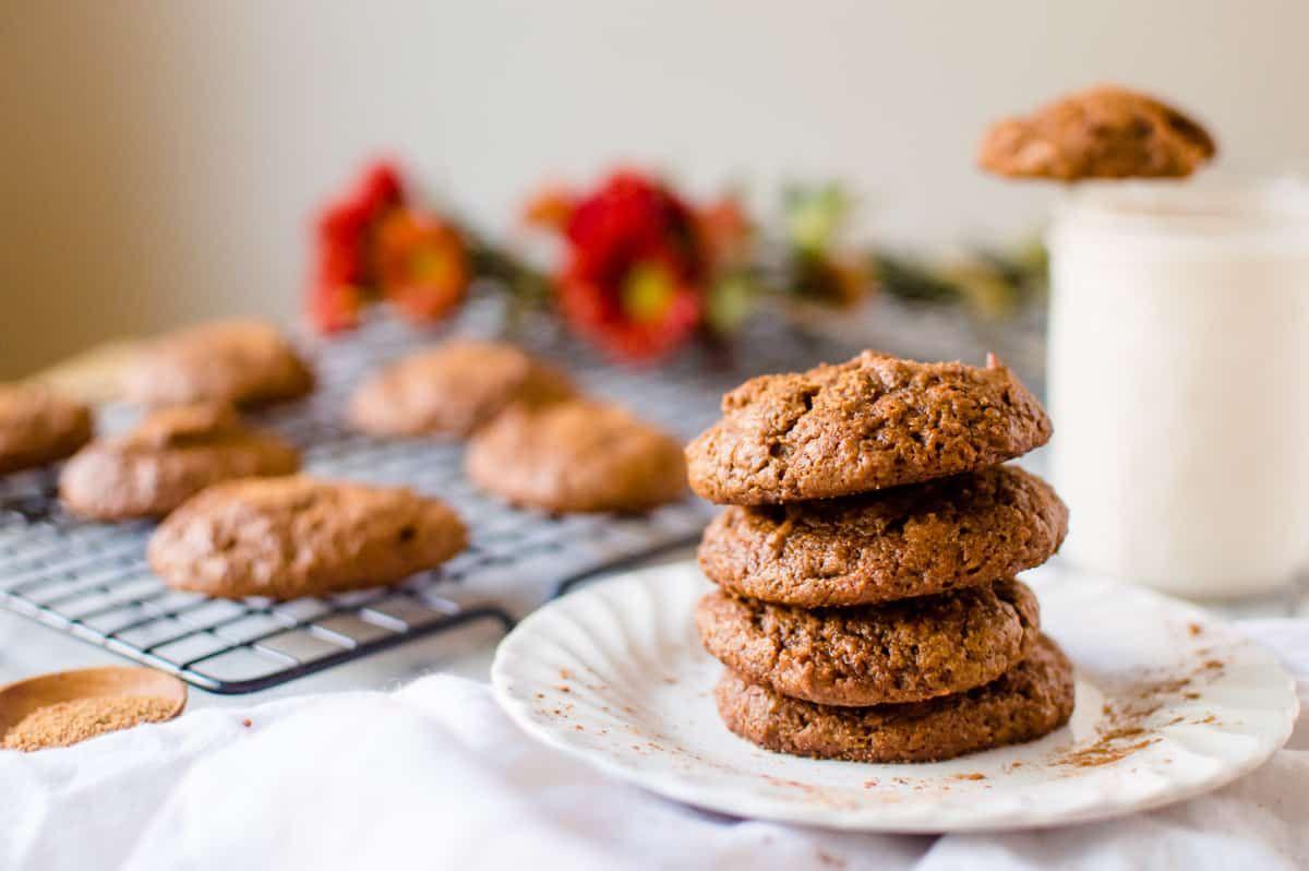 Pumpkin Almond Butter Cookies Recipe Dairy Free Cookies