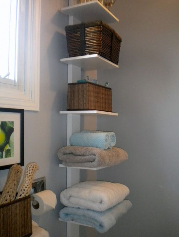 Storage for a small bathroom, I think I have enoug - #home_design #home_decor #home_ideas #kitchen #bedroom #living_room #bathroom - http://myshabbyhomes.com/storage-for-a-small-bathroom-i-think-i-have-enoug/