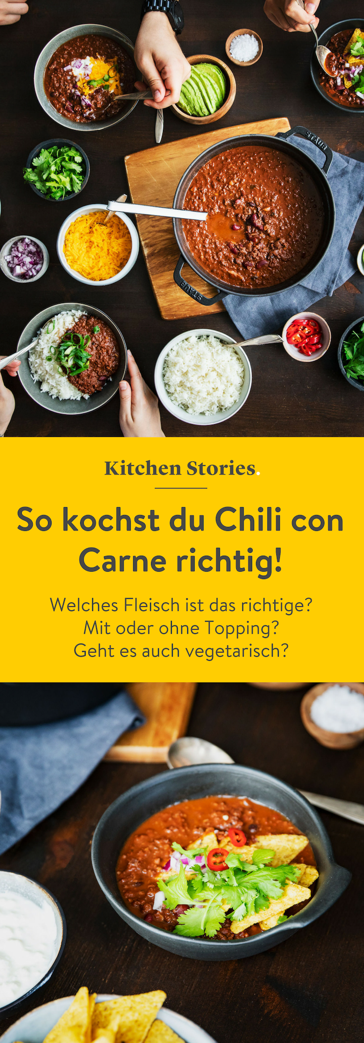 How To Cook The Perfect Chili Con Carne | Stories | Kitchen stories