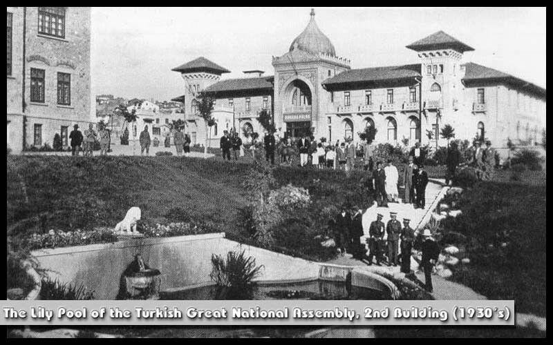 Ankara 2.TBMM Bahçesinden Ankara Palas