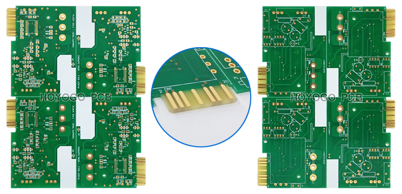 Key Specifications Base Material Fr4 Kb6160 Tg130 Board Thickness 1 6mm Final Copper Thickness 1oz Surface Finished Enig Gold Finger Unit Size Mm