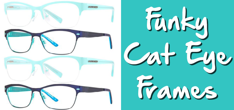 Do you love cat eye glasses? Check out these funky frames from ...