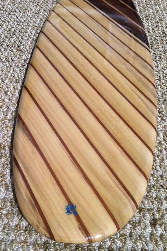 Reclaimed wood Surfboard wall hanger/coat hanger by SCMKayaks ...