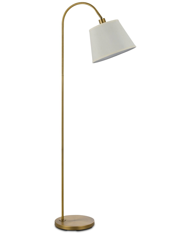 Cal Lighting 60w Covington Metal Floor Lamp Reviews Lighting Lamps Home Decor Macy S Metal Floor Lamps Floor Lamp Cal Lighting
