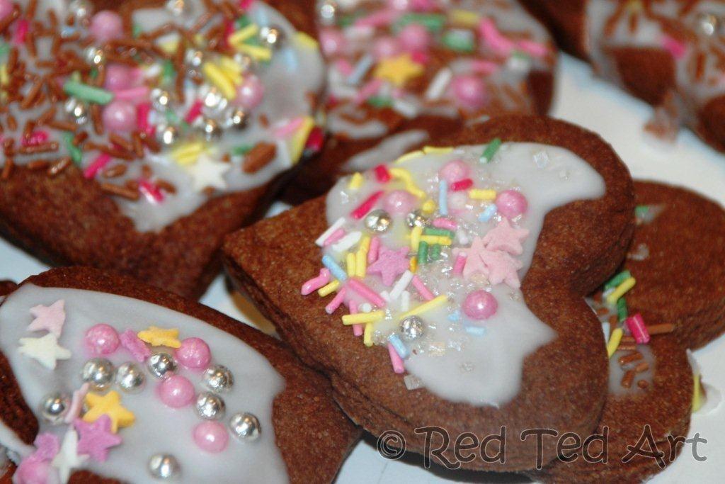 Easy Choc & Orange Cookies