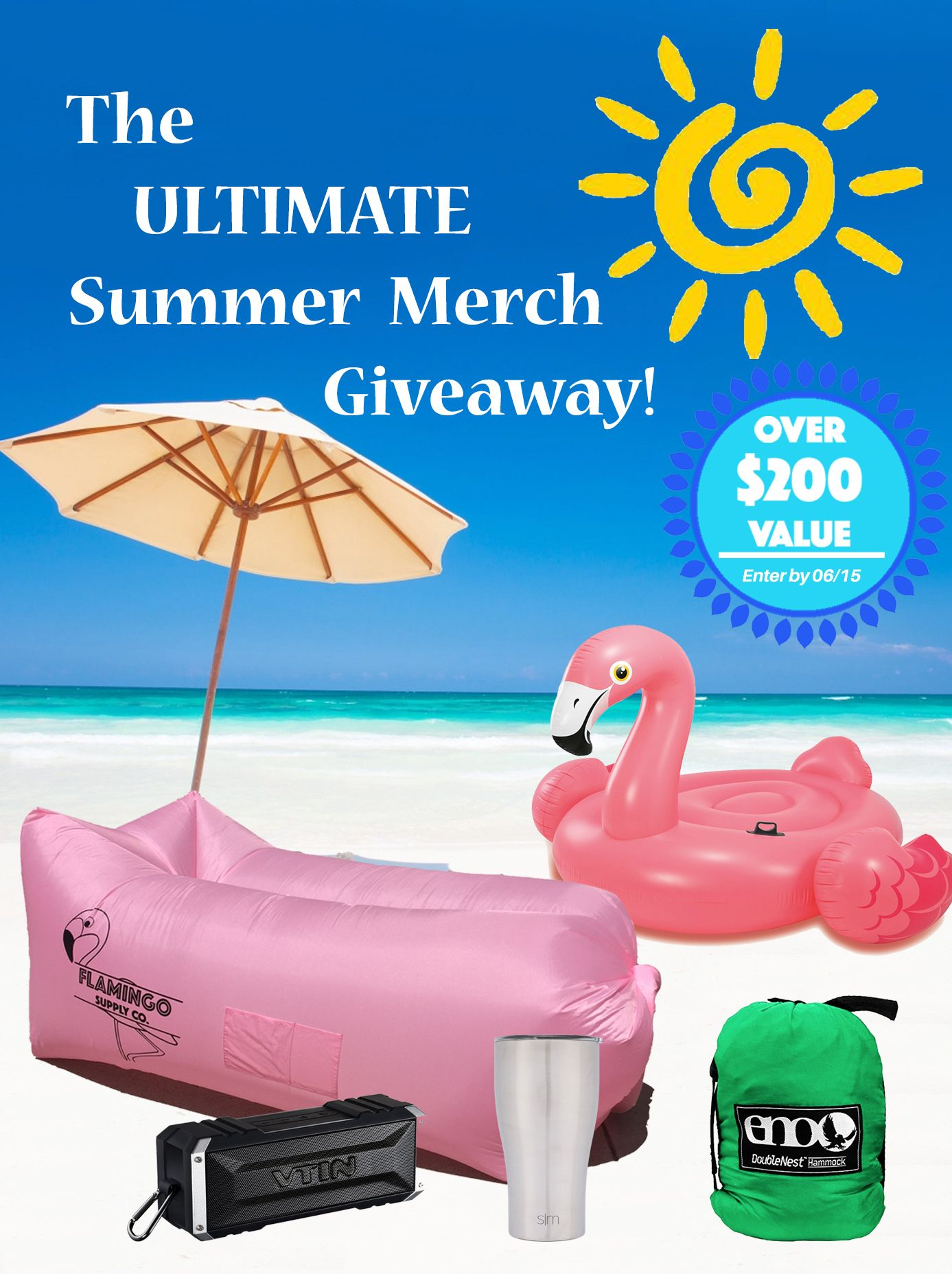 Summer giveaway free win giveaway contest sweepstakes