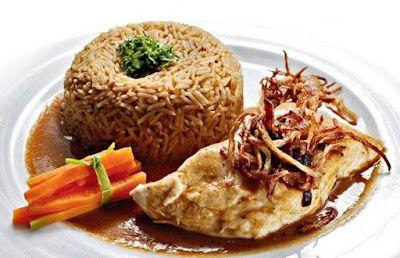 Lebanese sayediyeh fish and rice recipe arabic food recipes forumfinder Choice Image
