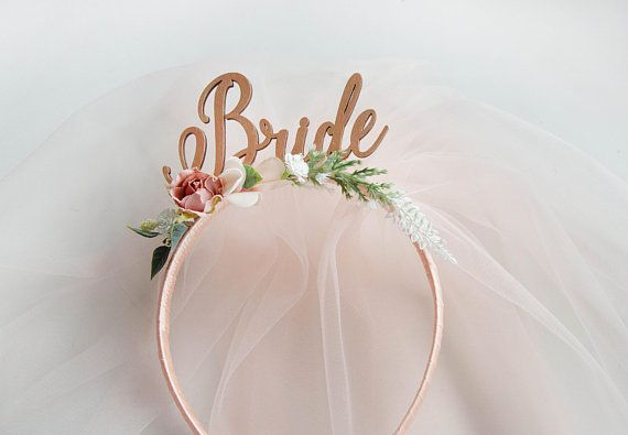 Bride To Be Headband Rose Gold Bride To Be Headband Bachelorette Party Headband Bridal Shower Headband Bridal Shower Gift