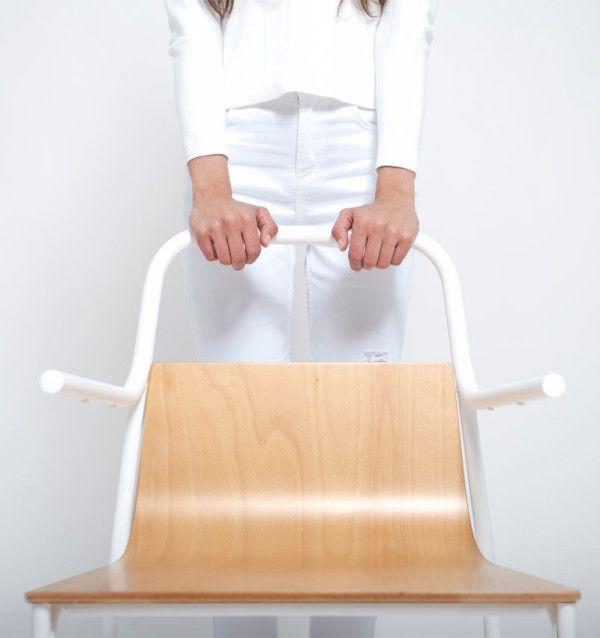 Achodoso Estudio's In_tube chair