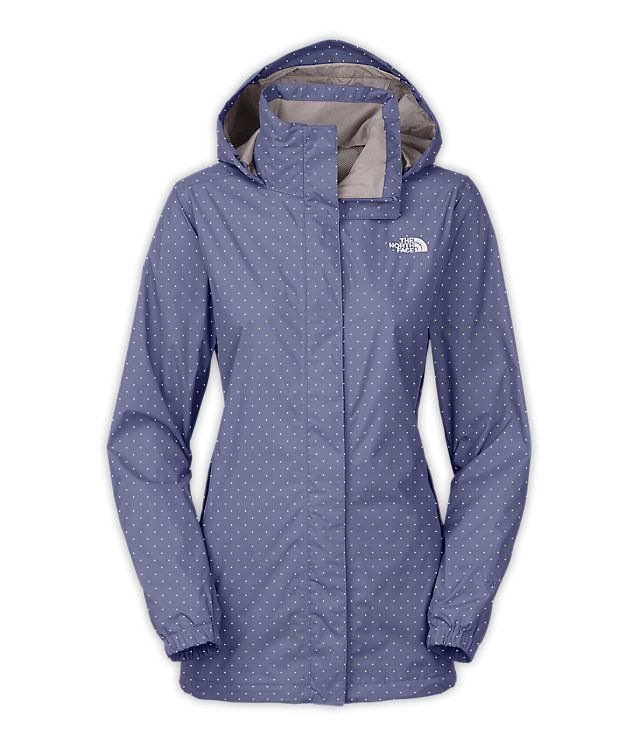 99769e42c014 The North Face Resolve Parka in Patriotic Blue Classic Dot Such a cute  lightweight jacket!