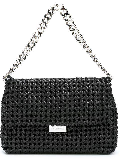 Stella Mccartney Crochet shoulder bag   Luisaviaroma