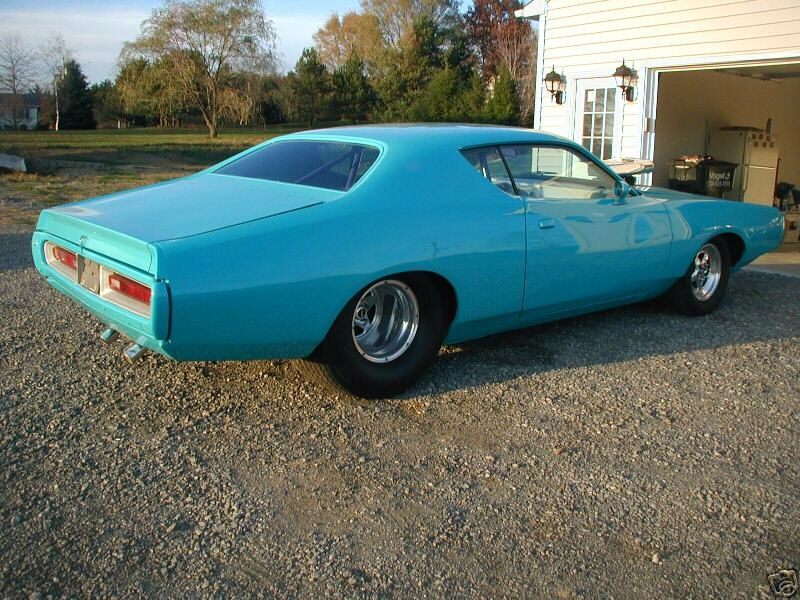 Tubbed blue charger   3rd generation Dodge Charger!   Pinterest ...