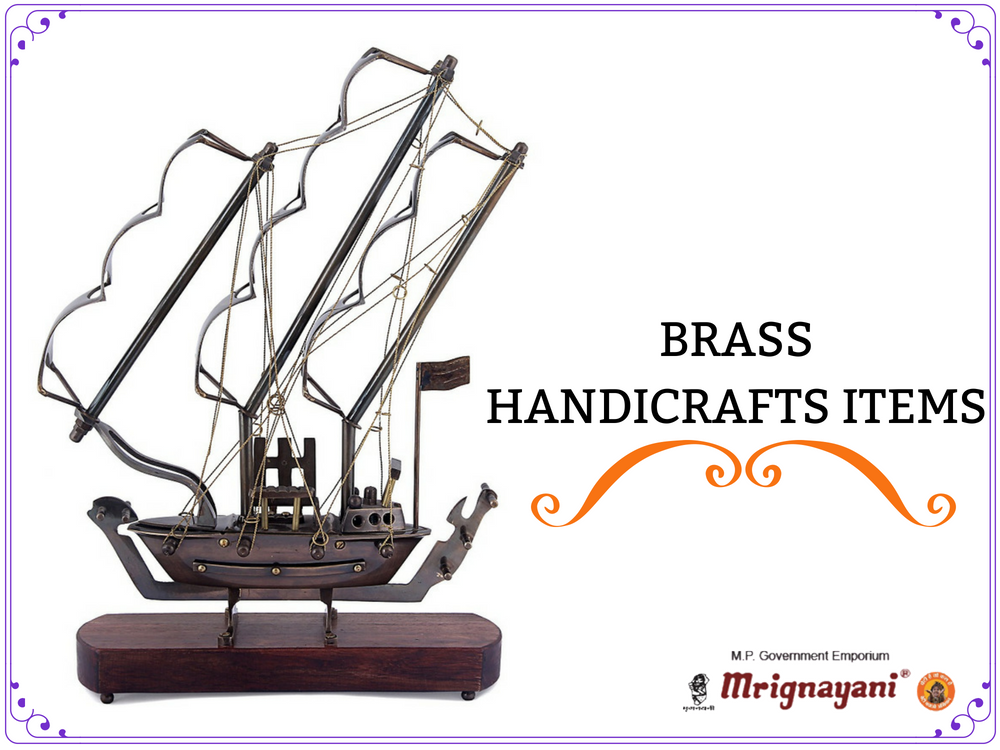 Get Finest Quality Brass Handicraft Items At Mrignayani Kolkata Mp