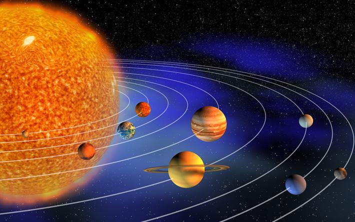 Herunterladen hintergrundbild sonnensystem, planeten-serie, planeten ...