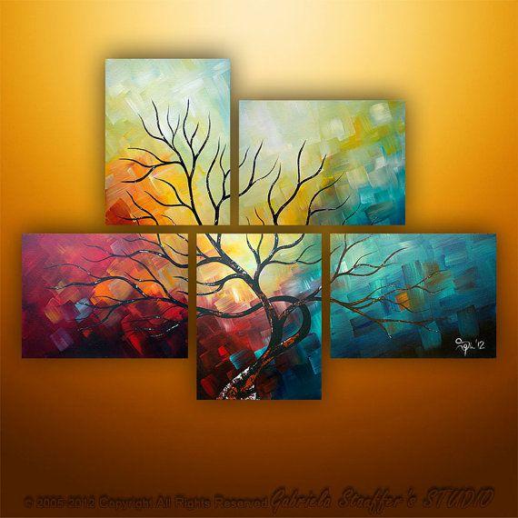 50 Split Panel Canvas Art Ideas Canvas Art Art Canvas Painting