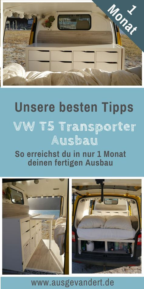 Photo of Insulate T5 & Insulate Base Plate – VW T5 Camper Removal