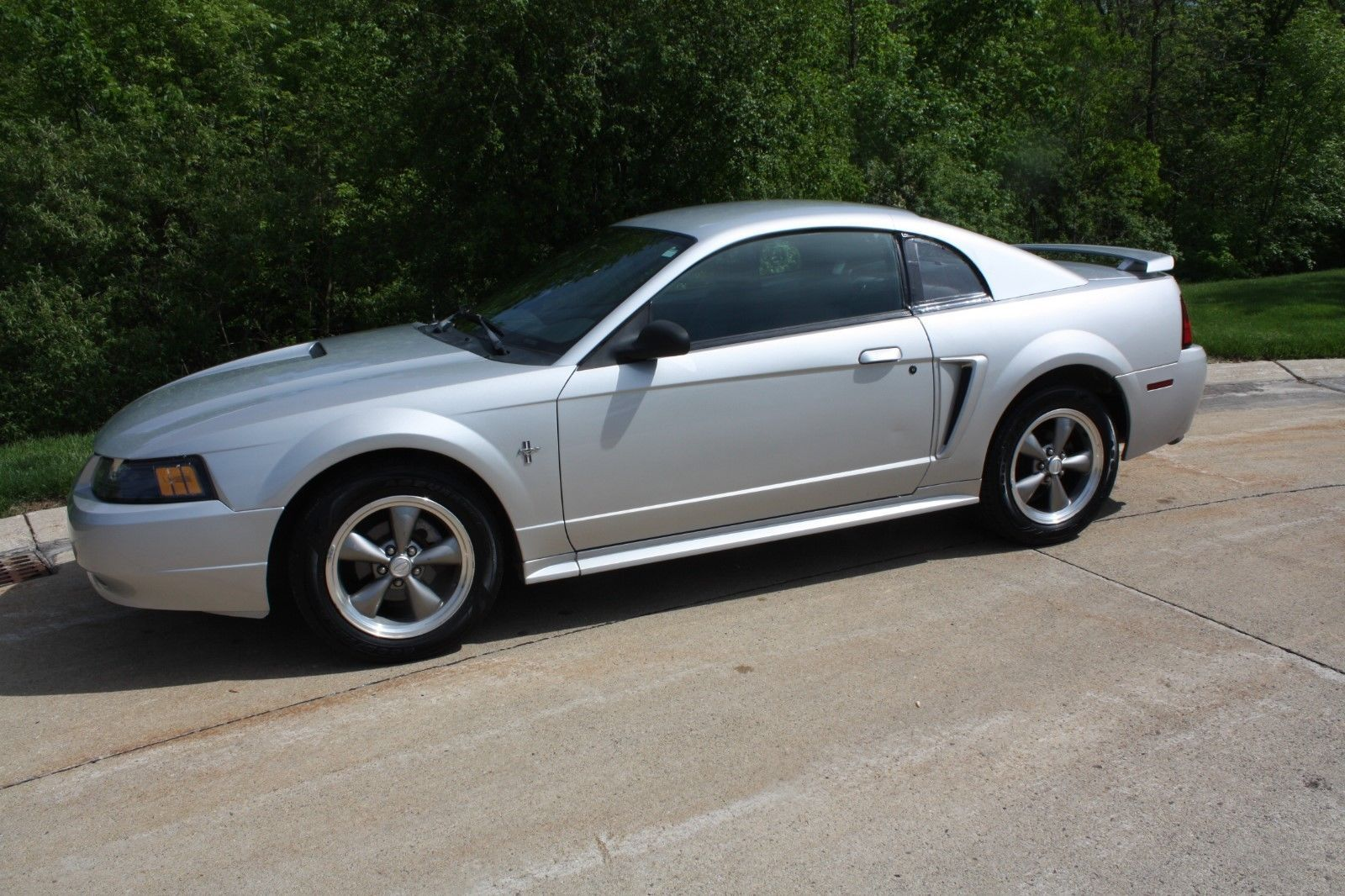 Ebay 2001 ford mustang 2001 ford mustang 3 8l v6 automatic overdrive air 6 cd changer silver fordmustang ford