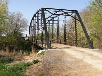 Coupland Tx Williamson County Cr456 Thru Truss Bridge The