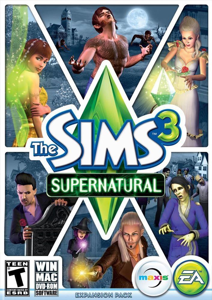 sims 3 supernatural pc no cd crack