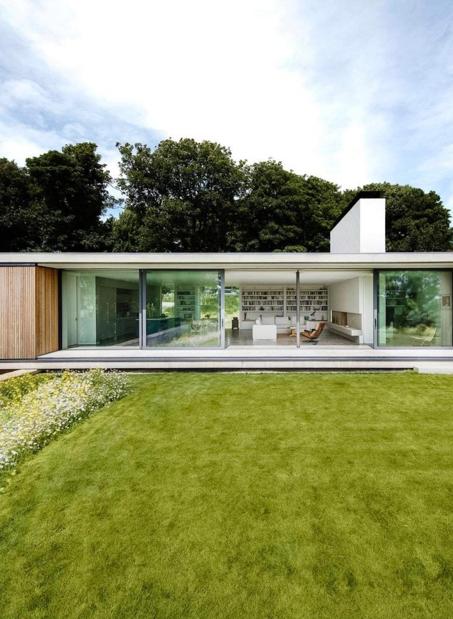 The Quest\' is een modern huis in het pittoreske Swanage, in het ...