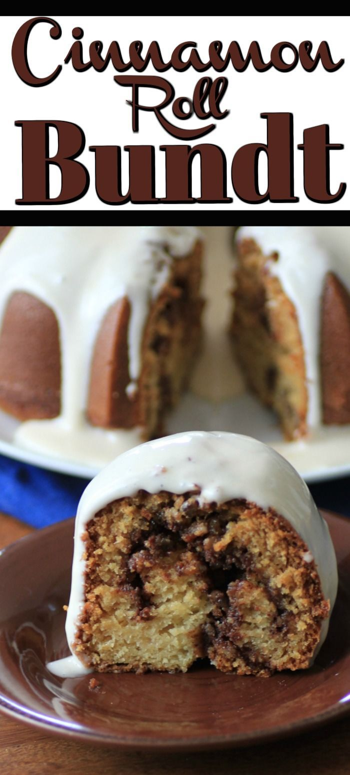 Cinnamon Roll Bundt Cake for #BundtBakers is a very popular cake!
