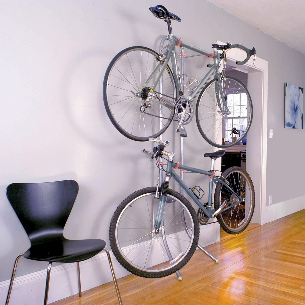 fahrr der einfach in der wohnung verstauen das sieht gut aus und spart platz bike. Black Bedroom Furniture Sets. Home Design Ideas