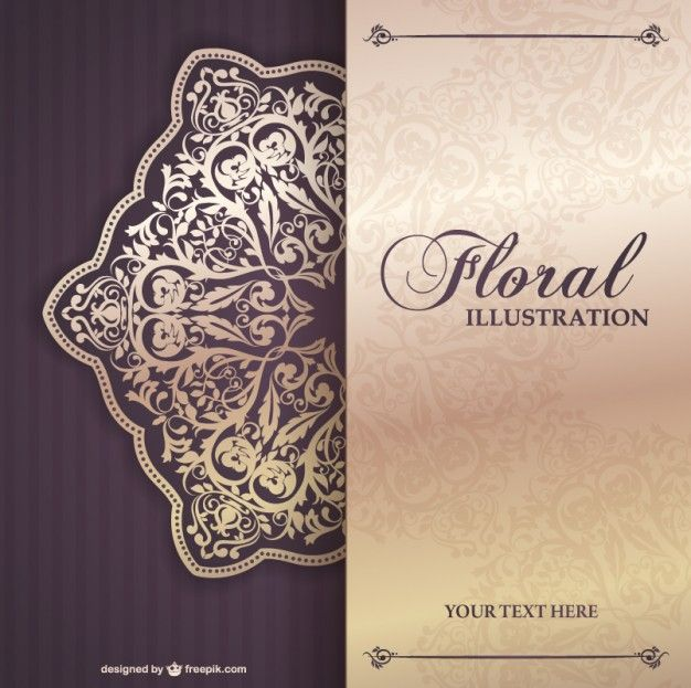 Floral invitation template free templates Pinterest - invitation template free
