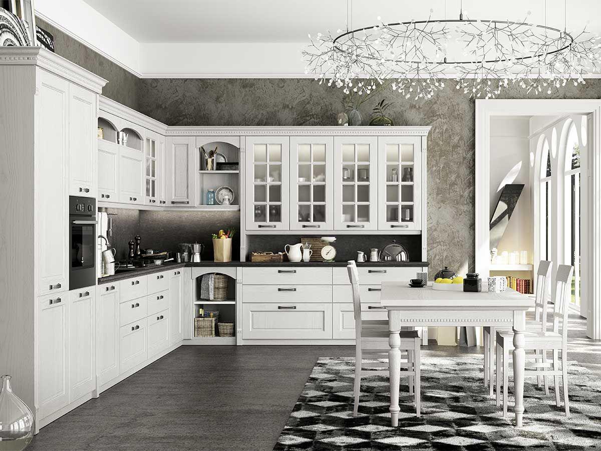 Cucina classica shabby chic | Arredamento Mobili | Spaces Where ...