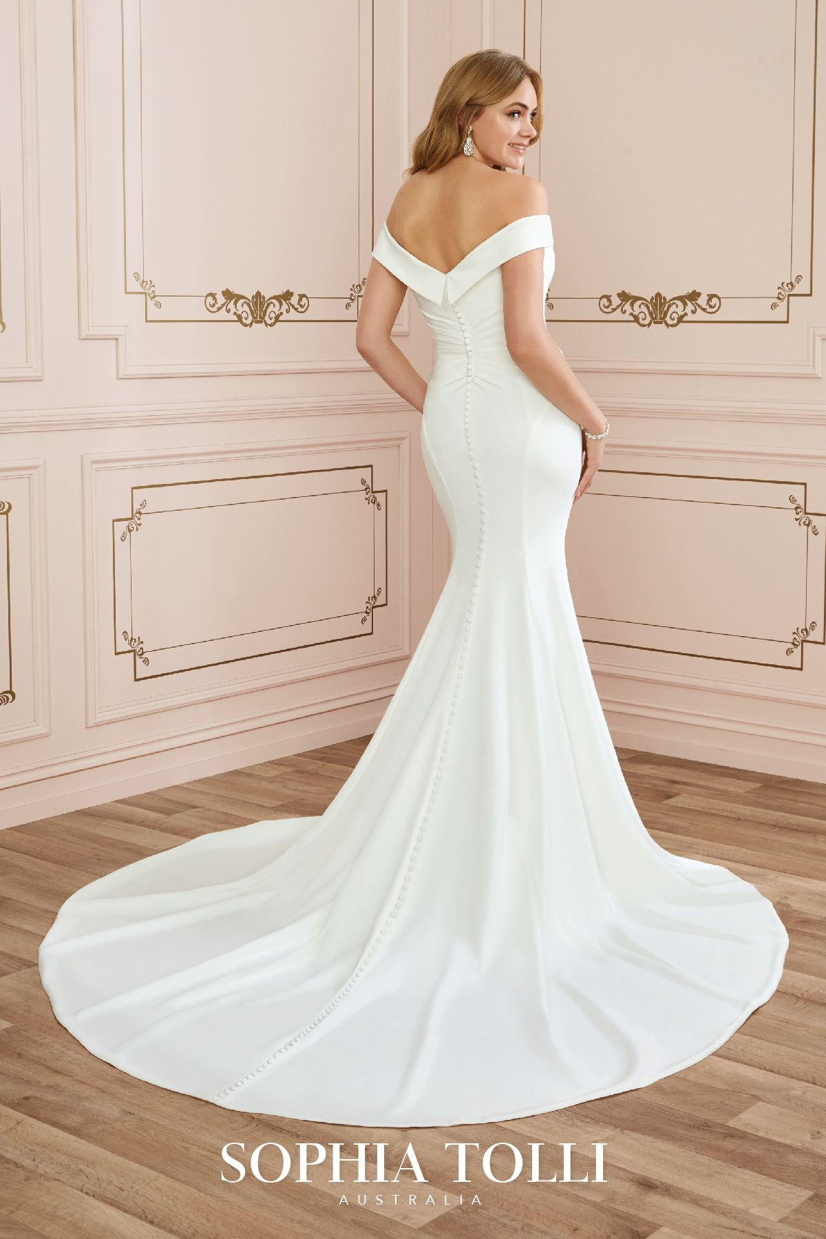 Emma Style Y22045 Sophia Tolli Fit And Flare Wedding Dress Petite Wedding Dress Mermaid Style Wedding Dress [ 1800 x 1200 Pixel ]