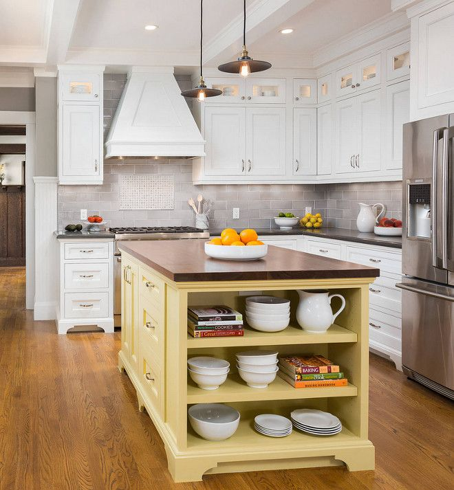Pale Yellow Kitchen Cabinets: Benjamin Moore Goldfield. Benjamin Moore Goldfield. Yellow
