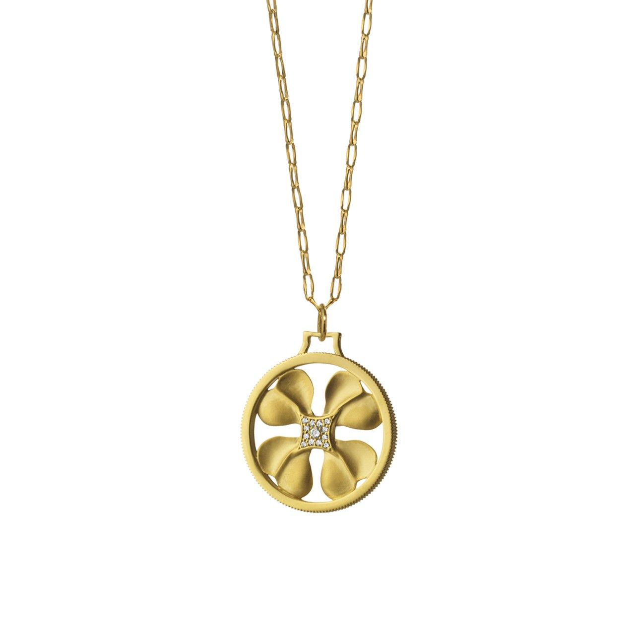 herseysilversmiths necklace lucky or leaf hersey original clover four by product gold silver