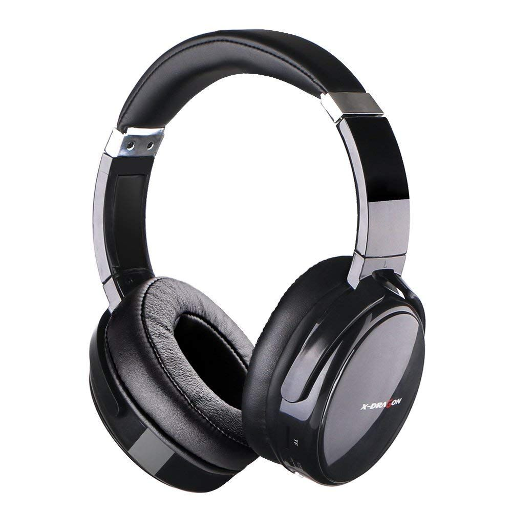 XDRAGON Active Noise Cancelling Bluetooth Headphones Over