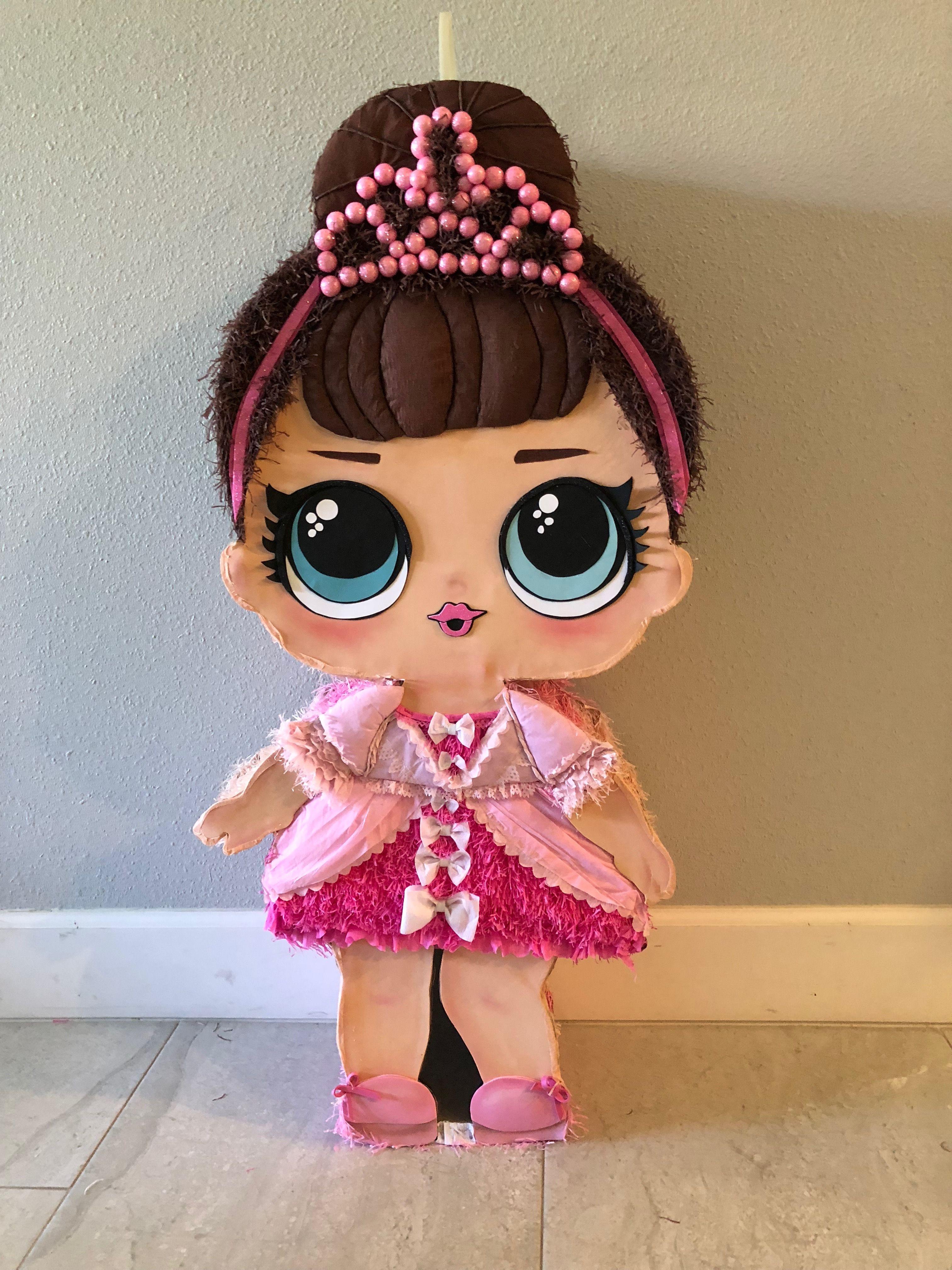 e5c94689e Piñatas~LOL doll Piñata | Muñecas LOL en 2019 | Fiesta de muñecas ...
