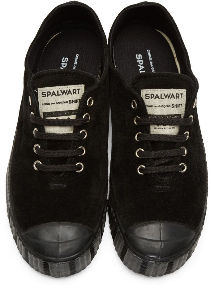 d3ff7ade33f6 Comme des Garçons Shirt - Black Spalwart Edition Special V Sneakers ...