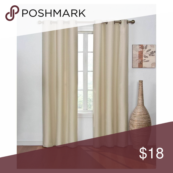 Madison Blackout Curtain Tan 42 X84 Eclipse Number Of Pieces 1 Dimensions Overall 84 Inches L X 42 Inche Curtains Blackout Curtains Drapes Curtains
