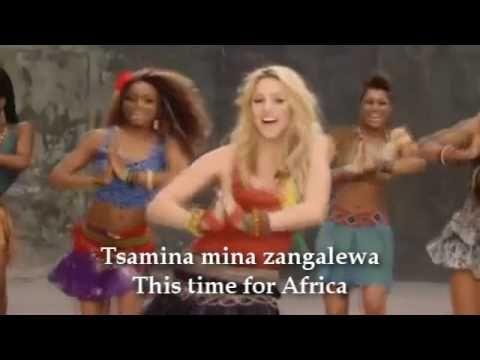 Shakira Waka Waka Time For Africa With Lyric Party Bus