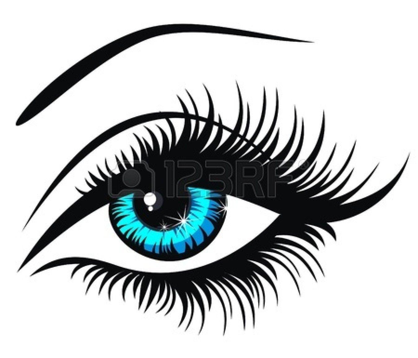 Eyebrow Vector Illustration Eyes Clipart Eye Illustration